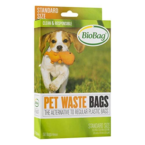 Bio Bag Premium Pet Waste Bags, Standard Size, 50...