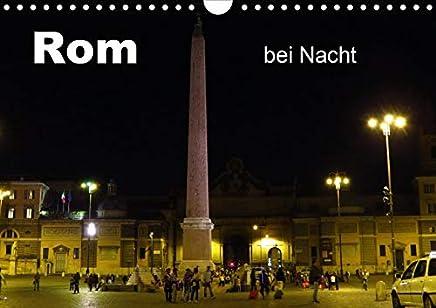Rom bei Nacht (Wandkalender 2020 DIN A4 quer): Rom im Nachtlichterglanz (Monatskalender, 14 Seiten )