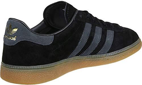 adidas München Schuhe 5,0 black/grey/gum