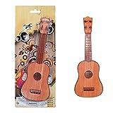 BSTQC Miniguitarra de simulación de ukelele de juguete educativo mini guitarra instrumento musical juguete para niños regalo ukelele juguete