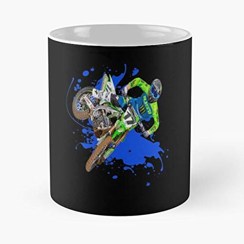 Joey Savatgy 17 Js17 Motocross And Supercross Champion Dirt Bike Gift Design Classic Mug -11 Oz Coffee - Funny Sophisticated Design Great Gifts White-situen.
