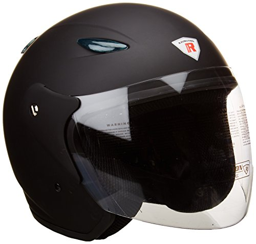 Bottari Motorradhelm Explorer, Rubber Black, Größe L