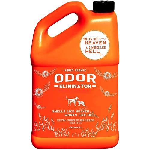 ANGRY ORANGE Pet Odor Eliminator for Strong Odor - Pack of 1 Citrus Deodorizer for Dog or Cat Urine...