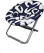 Folding small round Chair for camping - Navy