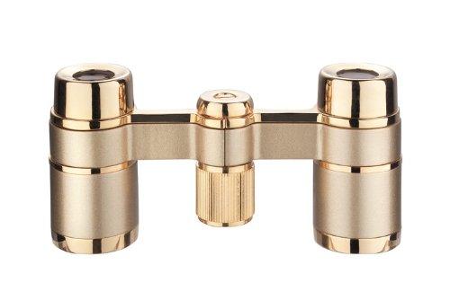 Eschenbach Optik Fernglas la scala 3x18 Theaterglas, einfache Bedienung, handlich, leicht, perlgold