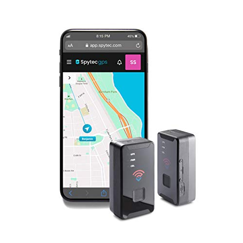 Spytec GL300 GPS Tracker for Vehicle Car Truck RV, Equipment, Mini Hidden Tracking Device for Kids and Seniors, Use with Smartphone and Track Target's Real-Time Location on 4G LTE Network - Pack of 2