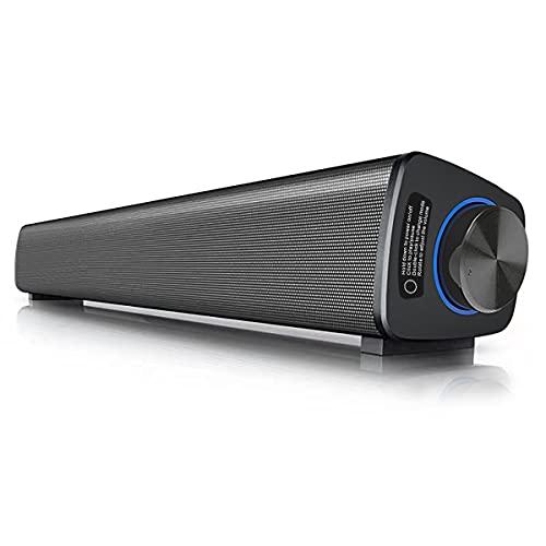 VANZEV USB Barra de Sonido Altavoces PC Inalámbrico Bluetooth 5.0 con Control...