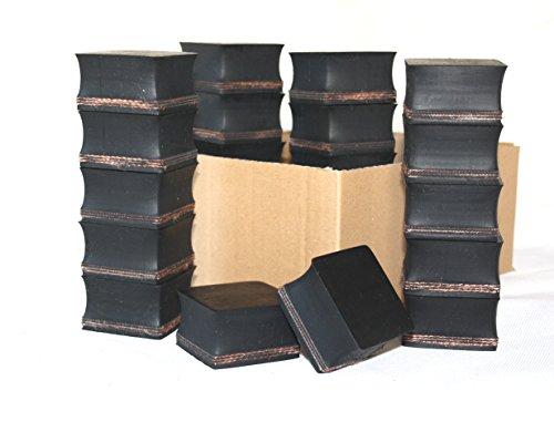 Gummiauflage 55x55x35mm (Karton mit 18 Stück) für Wagenheber und Hebebühnen