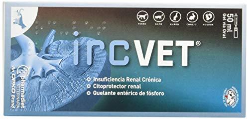 Farmadiet IRC-Vet Gel para Aliviar los Síntomas de Insuficiencia Renal Crónica para Perros y Gatos - 50 ml