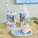 Reindeer Bathroom Accessories - Party Decorations & Room Decor
