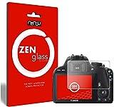 ZenGlass Nandu I Protector de Vidrio Flexible Compatible con Canon EOS 100D I Protector de Pantalla 9H