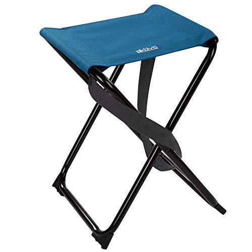 Aktive 52860 - Taburete plegable, camping, silla portátil resistente, silla plegable camping,...