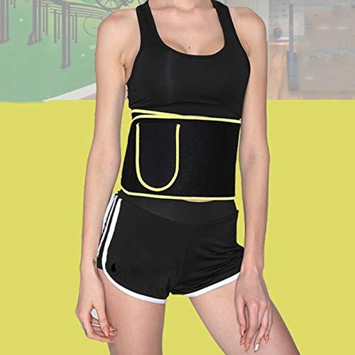 NXW Faja Reductora Adelgazante de Neopreno para Mujer y Hombre Cinturón Lumbar Reductor de Cintura y Abdomen para Gimnasio,Cinturón de Soporte de Cintura de cinturón Deportivo