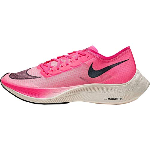 Nike ZoomX Vaporfly Next% Running Shoes (13, Black/Pink)