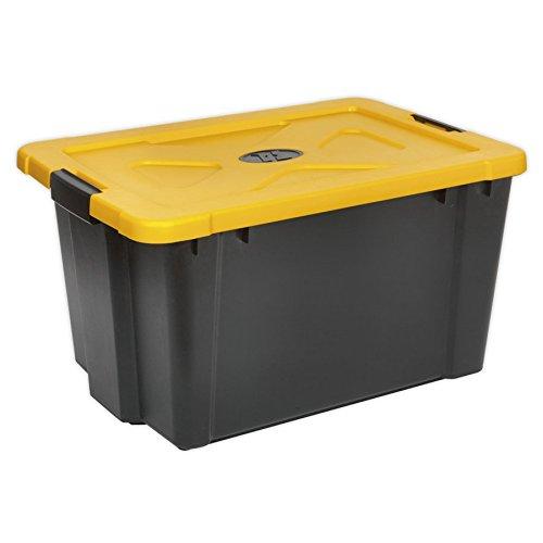 Sealey Apb54 Composite empilable Boîte de Rangement avec Couvercle 54ltr
