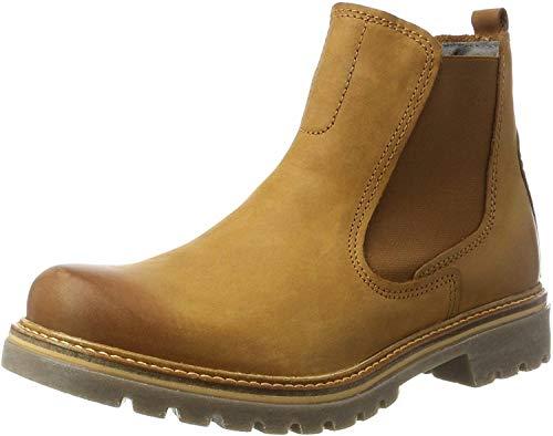camel active Damen Canberra 72 Chelsea Boots, Braun (Brandy 2), 39 EU
