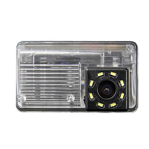 HD 720P Rückfahrkamera Wasserdicht Nachtsicht Rückansicht Kamera Einparkhilfe Rückfahrsystem für Toyota Corolla Verso 2004-2100