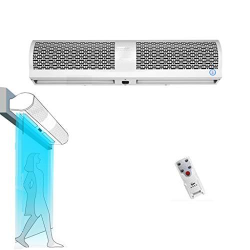 Air Curtain LING AI DA Mai Klimaanlagenvorhang, kleine und kompakte Klimaanlage mit Fenstereinbau - großvolumiger kommerzieller Innenluftvorhang - geräuscharmer Innenluftvorhang mit Fernbedienung