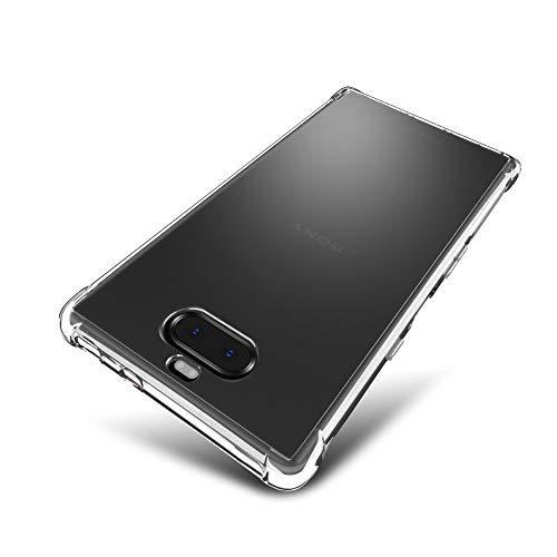 SLEO Hülle für Sony Xperia 10 Plus Hülle,Ultra Dünn TPU Schale Schutzhülle Clear Case Soft Cover für Sony Xperia 10 Plus (Ultra Slim – 1 mm) - Transparent