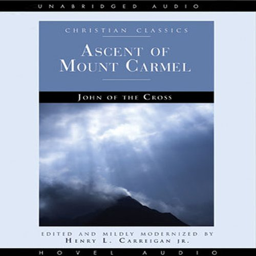 Ascent of Mount Carmel audiobook cover art