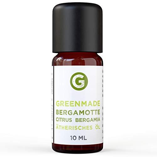 Bergamotte (10ml) - 100% naturreines, ätherisches Bergamotte Öl von greenstyle
