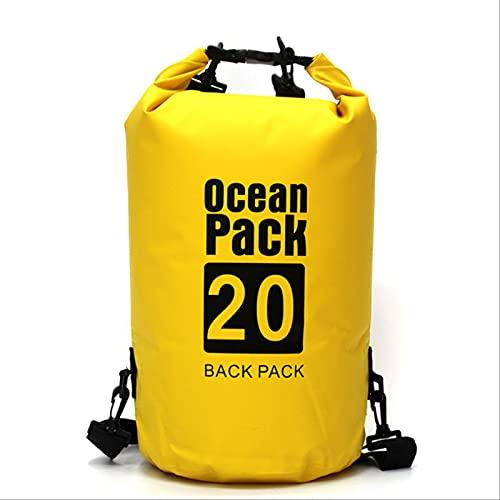Bolsa Seca Impermeable De PVC para Deportes Al Aire Libre, Bolsa Seca Impermeable Al Aire Libre para Deriva, Paseos En Bote, Senderismo, Camping Y Pesca