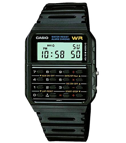 Our #4 Pick is the Casio Men's Vintage CA53W-1 Calculator Watch