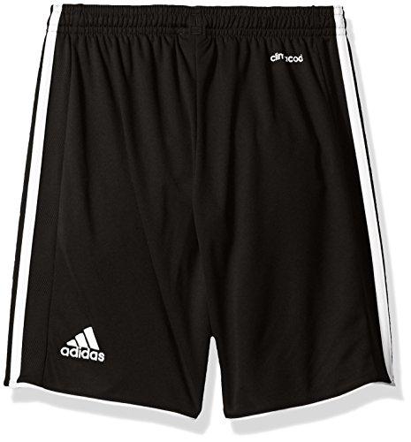 Adidas Youth Soccer Tastigo Shorts, Black/White - X-Small