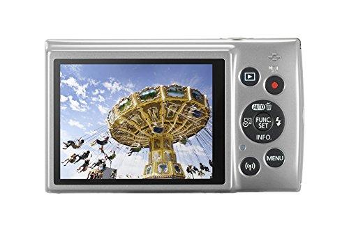 Canon IXUS 190 Digitalkamera (20 Megapixel, 10x optischer Zoom, 6,8 cm (2,7 Zoll) LCD Display, WLAN, NFC, HD Movies) silber