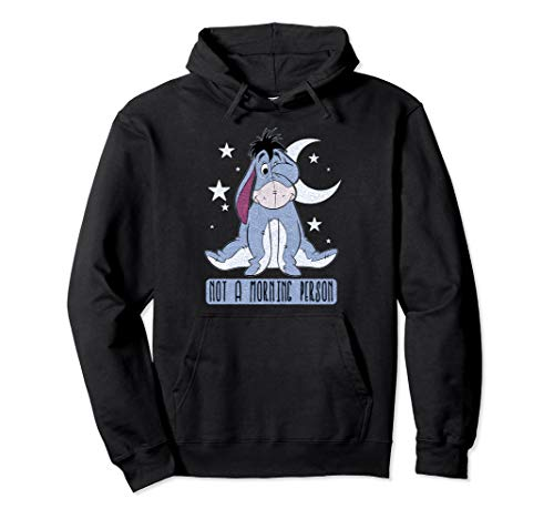 Disney Winnie The Pooh Eeyore Not A Morning Person Pullover Hoodie