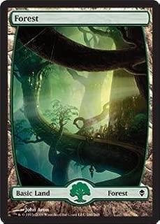 Magic: the Gathering - Forest - Full Art (246) - Zendikar - Foil
