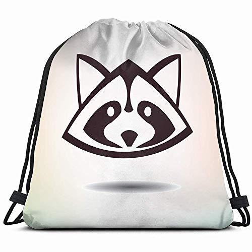 GymSack Drawstring Bag Sackpack Moon Sea Night Sport Cinch Pack Simple Bundle Pocke Backpack For Men Women