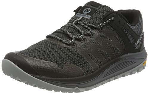 Merrell Nova 2 GTX, Zapatillas para Caminar Hombre, Negro (Granite), 44 EU