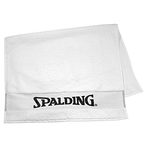Spalding Unisex-Adult Ball Bench Handtuch, White, 60 x 100 cm