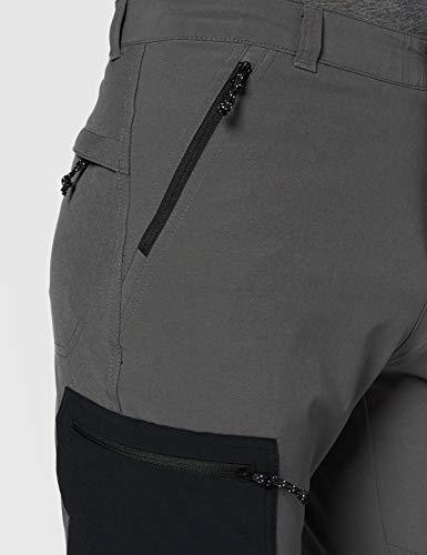 Columbia Men's Triple Canyon Pants,Grey (Grill/Black),W38/L34 (EU W48/L34)