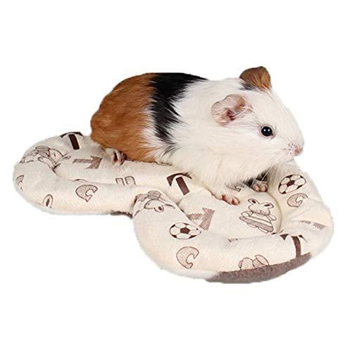 ETbotu Home Items - Huisdier benodigdheden - Hart vorm huisdier hamster matten zacht pluche cavia-varken kooi kussen kussens winter warme eekhoorn Hedgehog Konijn Nest Bed
