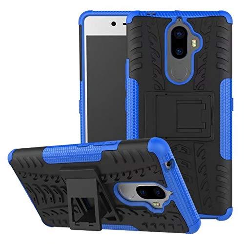 QiuKui For Lenovo K8 Plus K6 Nota Poder Phab 2 Plus K4 K5 2018 Nota Z5 A7020 A6000 Covers K3 Plus K5 Vibe P1M P2 P1 Caso XW (Color : Blue, Material : For Lenovo Z5)