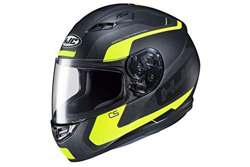 Casco moto HJC CS 15 DOSTA MC4HSF, Nero/Giallo, S