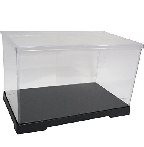 かしばこ商店 透明フィギュアケース 301818 プラスチック 組立式 W300×D180×H180mm ディスプレイケース