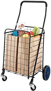 Mainstays Durable Deluxe Rolling Shopping Cart