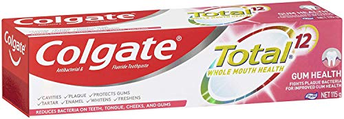 Colgate Total Gum Health Antibacterial Fluoride Whole Mouth Health Multi Benefit Toothpaste 115g