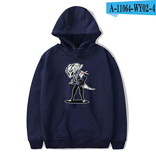 Sudadera con Capucha HD Hoodie Unisex Sudadera Estampada Sweater De La Capa De Impreso Arte Tops Pullover Cosplay Hollow Knight