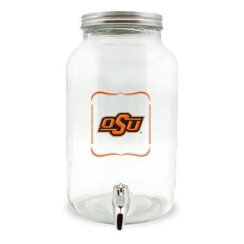 Duck House NCAA Oklahoma State Cowboys Glas Getränkespender/Sun Tea Jar, 5 Liter
