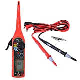 KIMISS Auto Circuit Tester, herramienta de diagnóstico eléctrico Multímetro Lámpara Car Power Circuit Probe Kit(rojo)