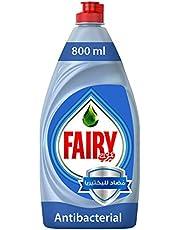 Fairy Platinum AntiBacterial Dish Washing Liquid Soap, 800 ml- Pack of 1