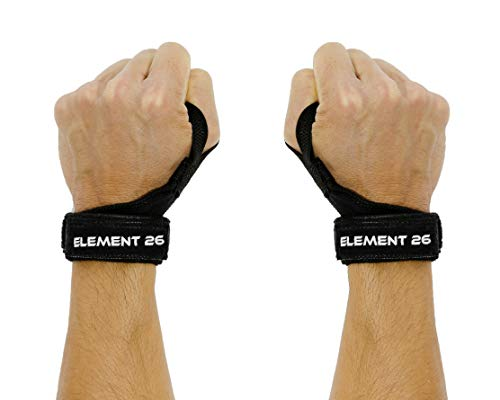 IsoWraps Wrist Wraps for Functional Fitness, Weightlifting, Olympic Lifting - Lifting Wraps for Men and Women - Wrist Support Braces With Mobility - Weight lifting Wraps With Thumb Loop (Black, M/L)