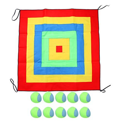 TOYANDONA Juego de Lanzamiento de Objetivo de Bolsa de Frijoles Juegos Al Aire Libre para Niños Juego de Lanzamiento Interactivo de Padres E Hijos Juego de Dardos de Bolsa de Arena Objetivo Pegajoso