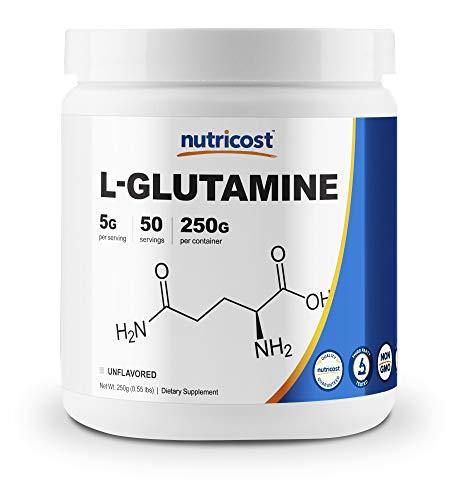 Nutricost L-Glutamine Powder 250 Grams