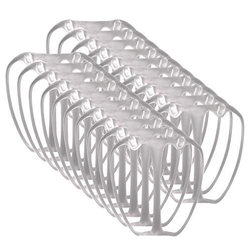 ZIYOU Reusable Washable Comfort Wearing Interner Stützrahmen-Schutzhalter schaffen Atempause(3XL, Black)