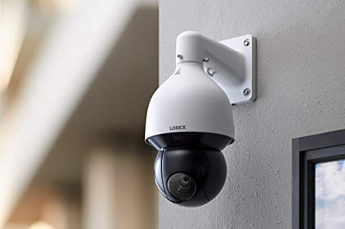 Lorex 4K Ultra HD IP Pan-Tilt-Zoom Add-On Indoor / Outdoor Security Camera with 25x Optical Zoom and Color Night Vision